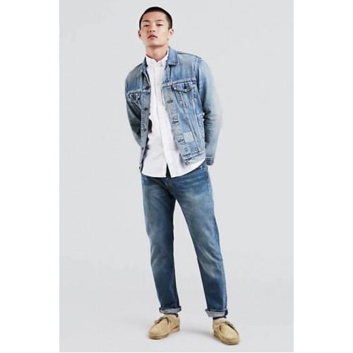 Quần Jeans Nam Levis 501 Ống Đứng Màu Xanh Trẻ Trung