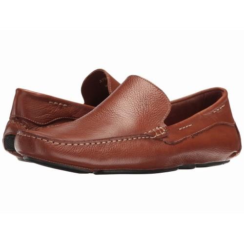 Giày Lười Giorgio Brutini Trayger Chất Da Nâu Hàng Nhập