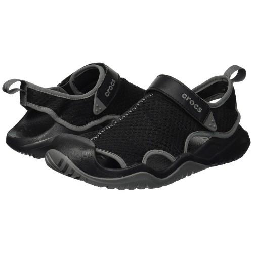 Giày Sandal Nam Crocs Swiftwater Deck Chất Lưới