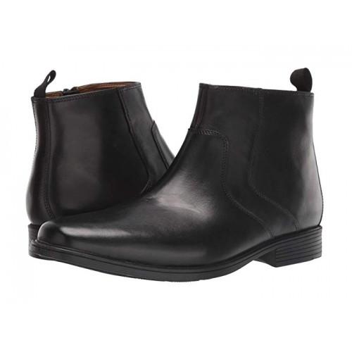 Giày Da Boot Nam Cổ Thấp Clarks Larvik Thời Trang
