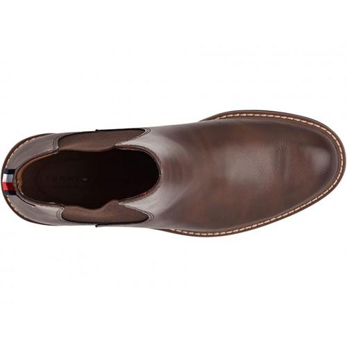 Giày Boot Nam Tommy Hilfiger Greene Cổ Vừa Hàng Chính Hãng