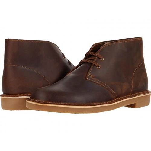 Giày Boot Nam Clarks Da Bushacre 3 Phong Cách Và Thoải Mái