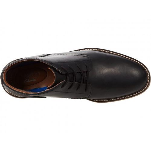 Giày Boot Cổ Thấp Clarks Da Thật Jaxen Mid Hàng Chính Hãng