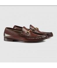 Giày Lười Gucci Nam Chất Da 1953 Họa Tiết Móng Ngựa