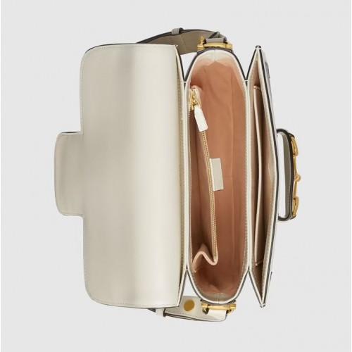 Túi Nữ Gucci Đeo Vai Horsebit 1955 Họa Tiết GG Cá Tính