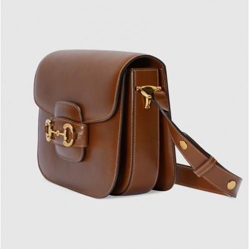 Túi Nữ Gucci Đeo Vai Horsebit 1955 Chất Da Cao Cấp
