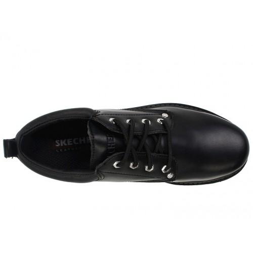 Giày Oxford SKECHERS Nam Cột Dây Hàng Hiệu