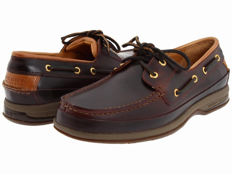 Giày Thuyền Nam Sperry Top-Sider Gold