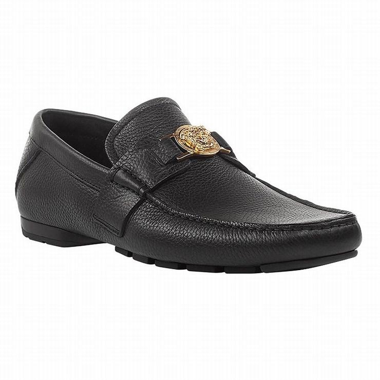 Giày Lười Nam Versace Signature