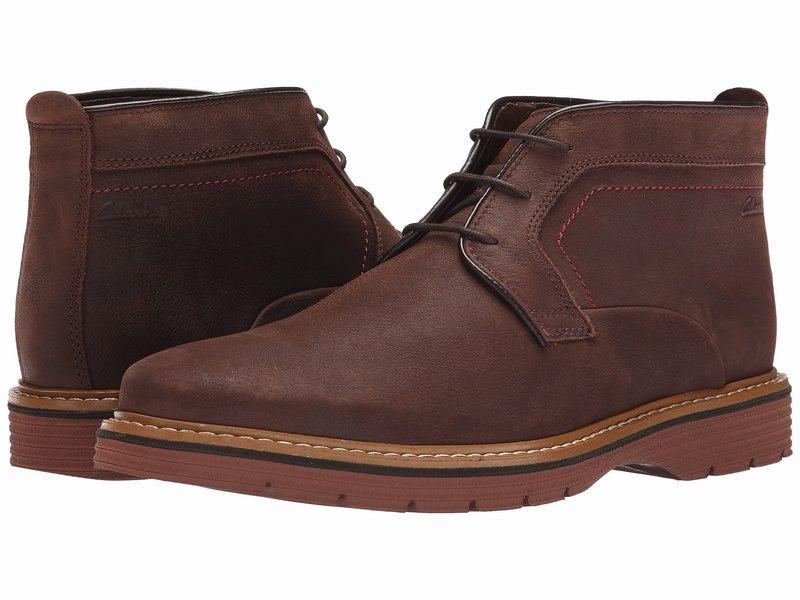 Giày Tây Cao Cổ Nam Clarks Newkirk Top 1