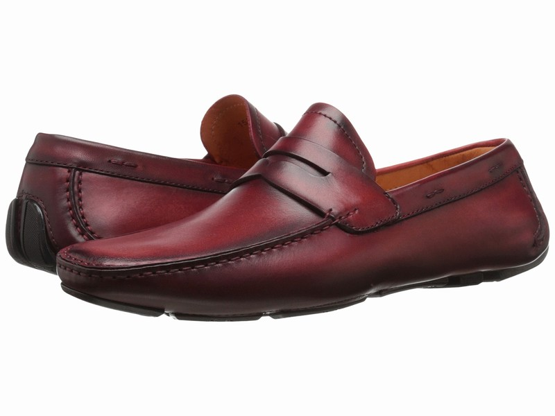 Giày Lười Da Nam Magnanni