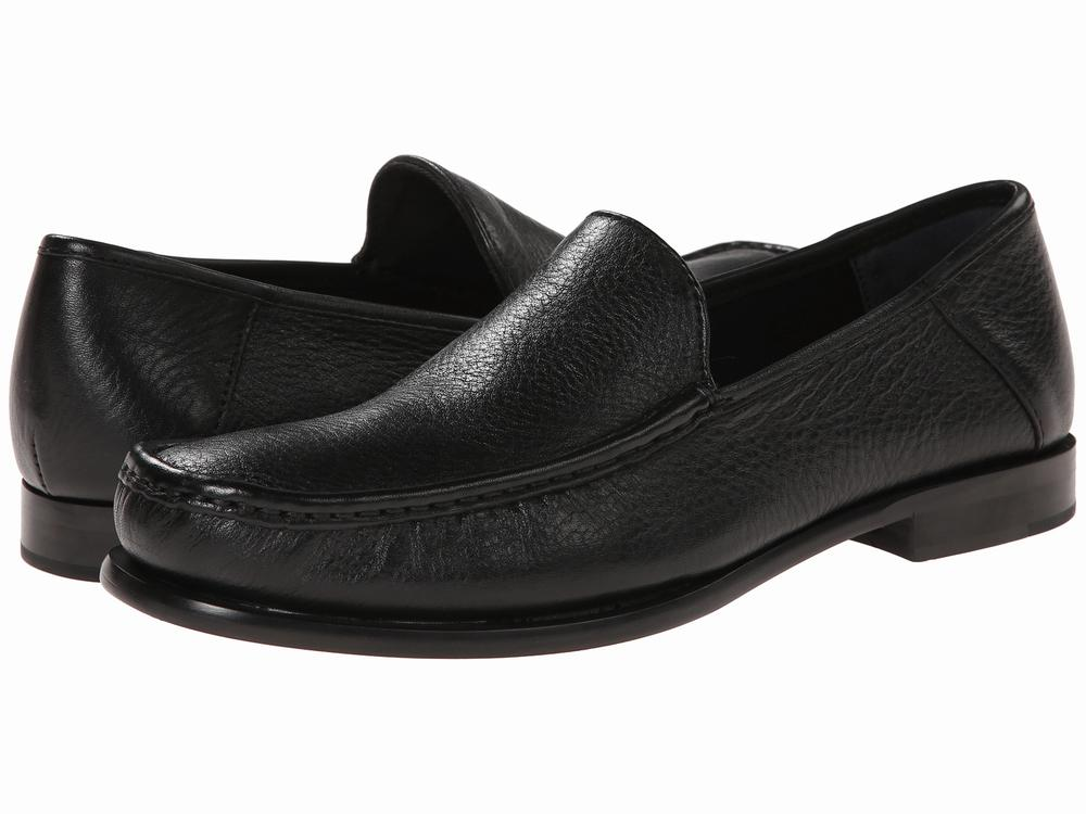 Giày Oxford Da Đen Nam Calvin Klein