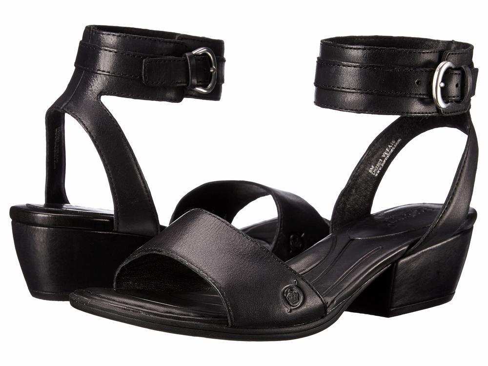Giày Sandals Nữ Đế Vuông Born