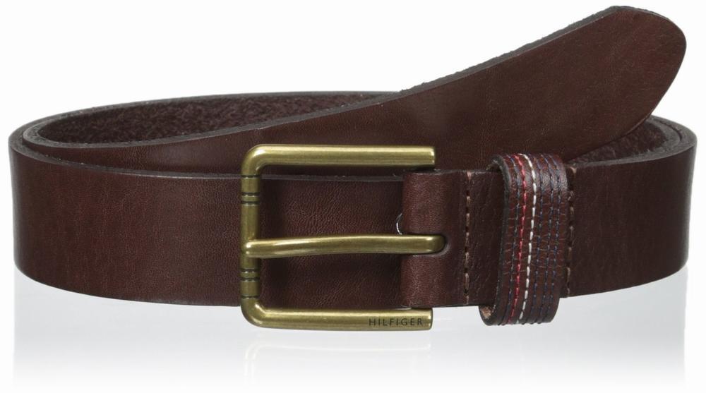 Thắt Lưng Nam Tommy Hilfiger 32mm Signature Chính Hãng