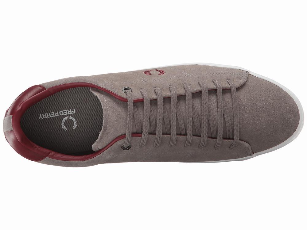 Giày Sneaker Nam Fred Perry Howells Xám Chính Hãng 1