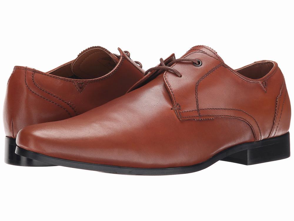 Giày Oxford Nam GUESS Georgie Da Nâu Cao Cấp