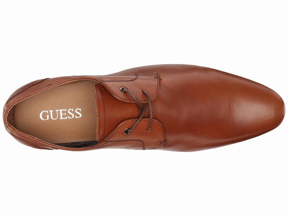 Giày Oxford Nam GUESS Georgie Da Nâu Cao Cấp 1