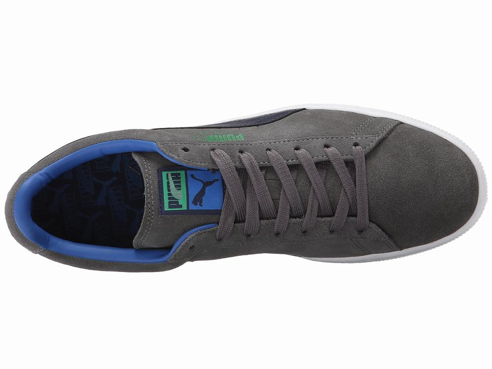 Giày Sneaker Nam PUMA Suede Xanh Chính Hãng 1