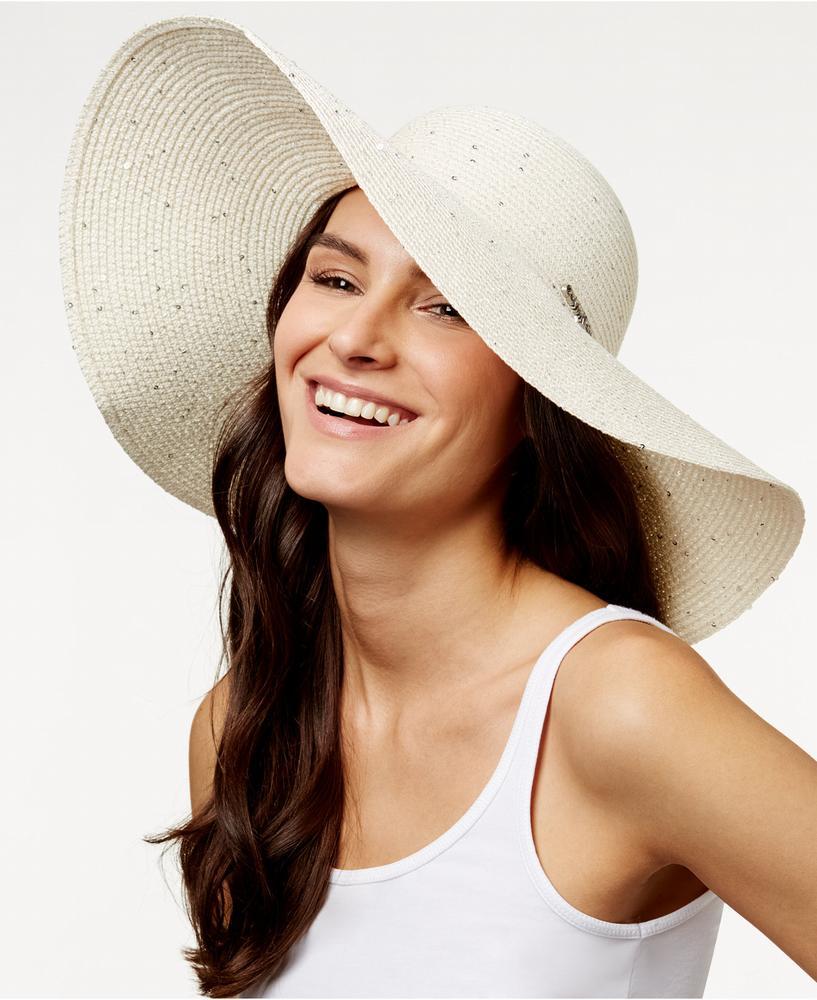Nón Vành Rộng Nữ Calvin Klein Sequin Cao Cấp