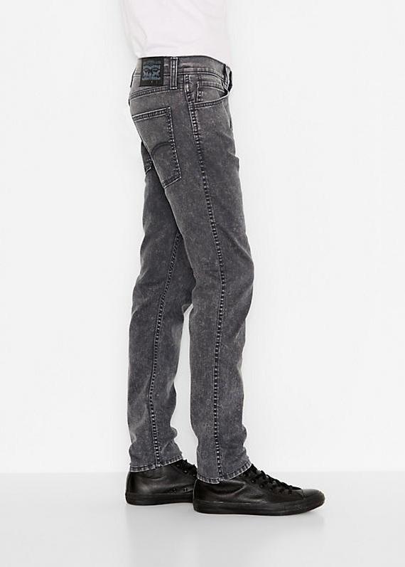 Quần Bò Nam Levi 522™ Slim Taper Xám Hàng Hiệu 1