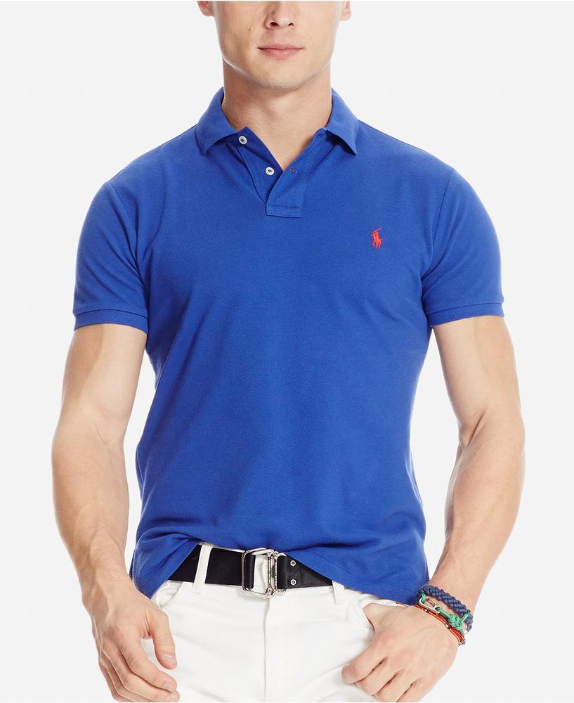 Áo Phông Nam Polo Ralph Lauren Custom-Fit Tay Ngắn Xách Tay 1