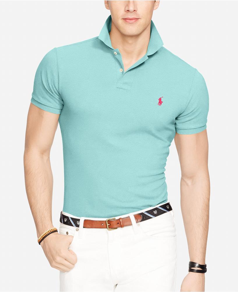 Áo Phông Nam Polo Ralph Lauren Custom-Fit Tay Ngắn Xách Tay
