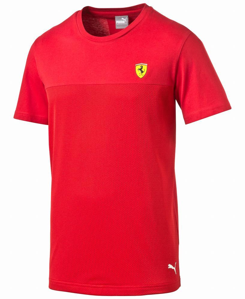Áo Phông Nam Puma Ferrari Cổ Tròn Chính Hãng