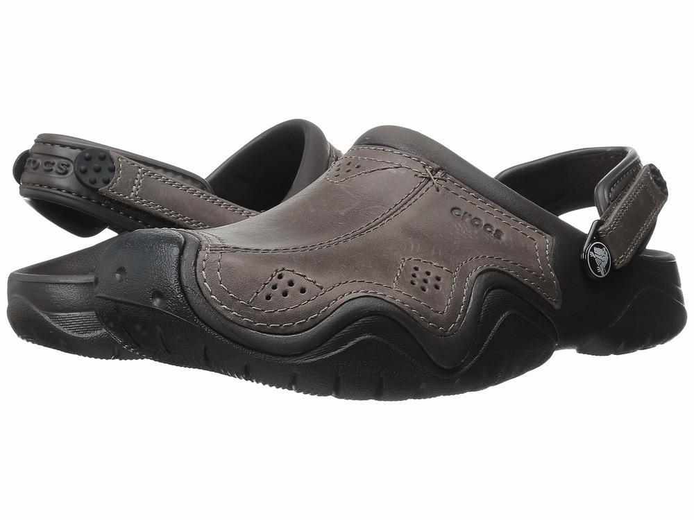 Giày Sandal Da Nam Crocs Swiftwater Hàng Hiệu 1