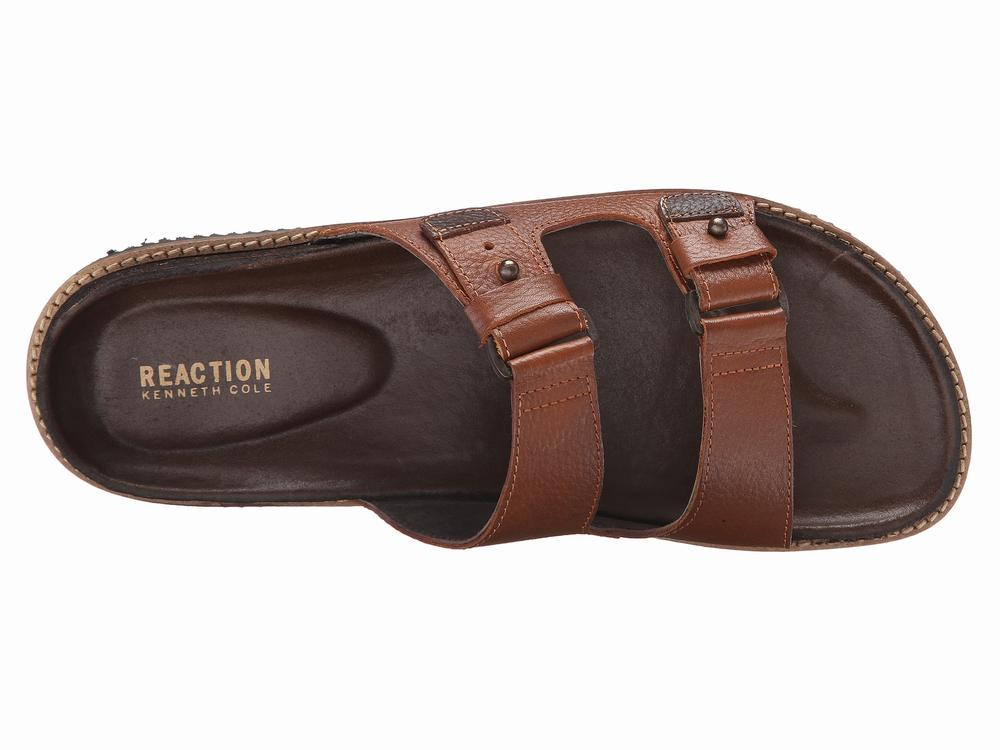 Dép Da Nam Kenneth Cole Reaction Leap Hàng Hiệu 1