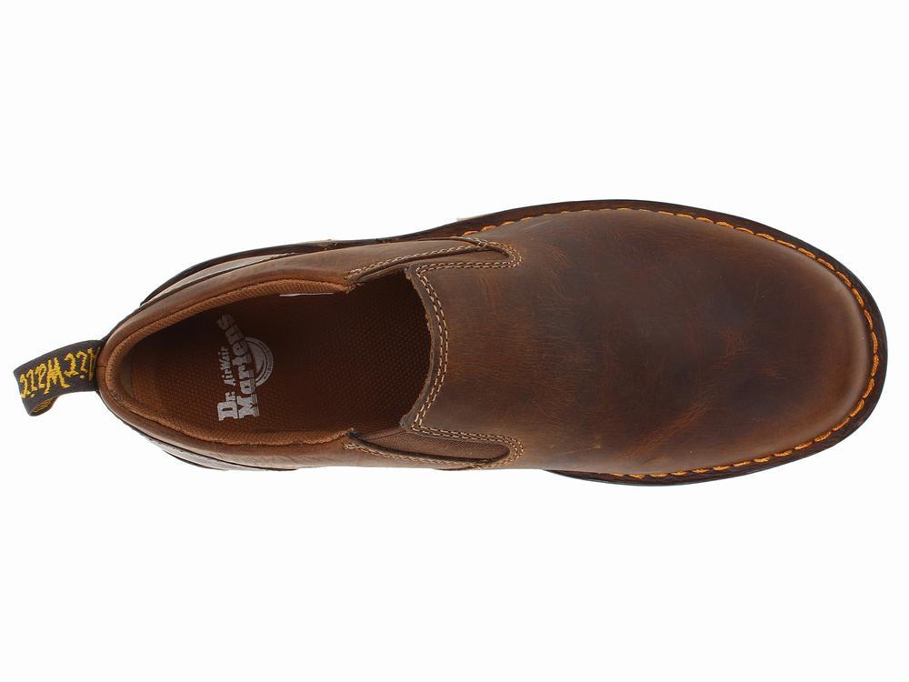 Giày Lười Da Nâu Dr. Martens Maclean Chính Hãng 1