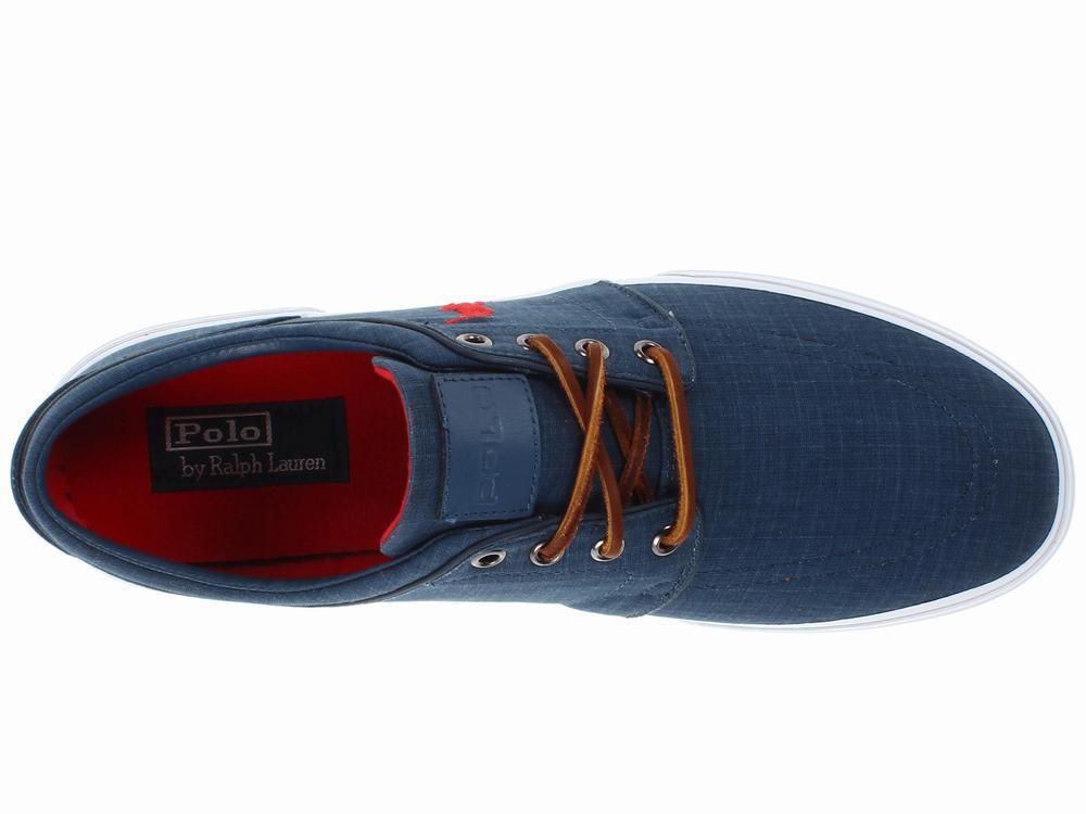Giày Vải Thể Thao Nam Polo Ralph Lauren Faxon Low 1