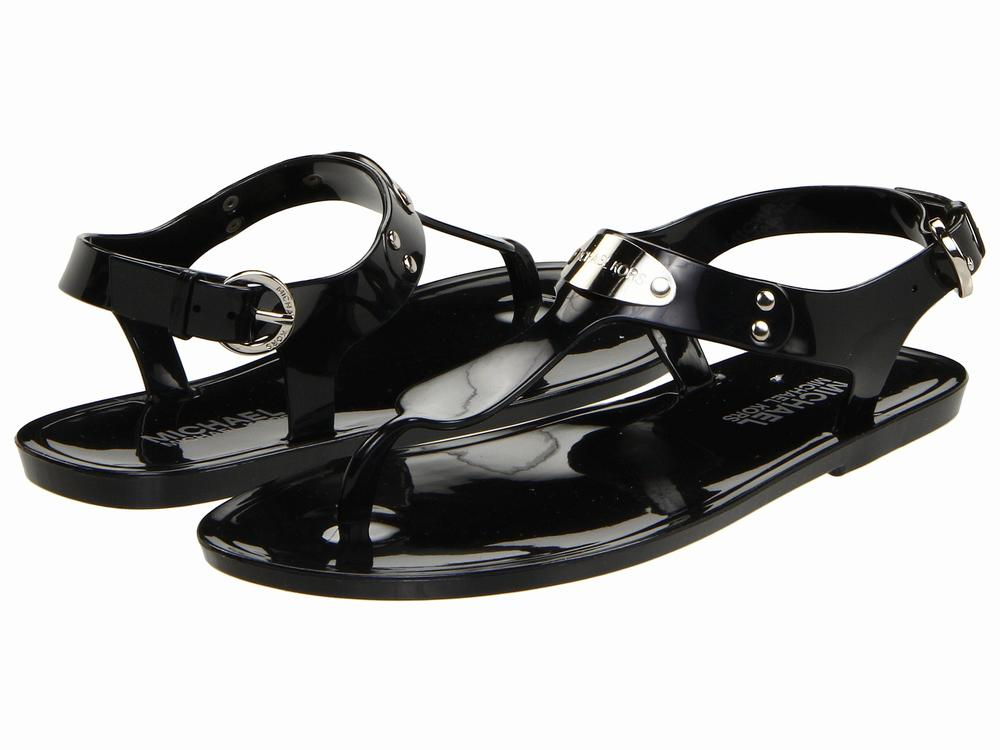 Dép Sandals Nữ Michael Kors MK Plate Jelly Cao Cấp