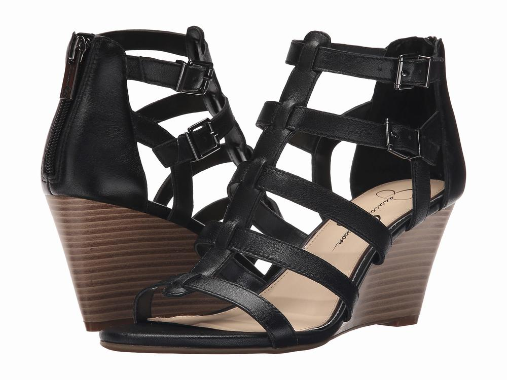 Giày Sandals Đế Xuồng Nữ Jessica Simpson Shalon Cao Cấp 1