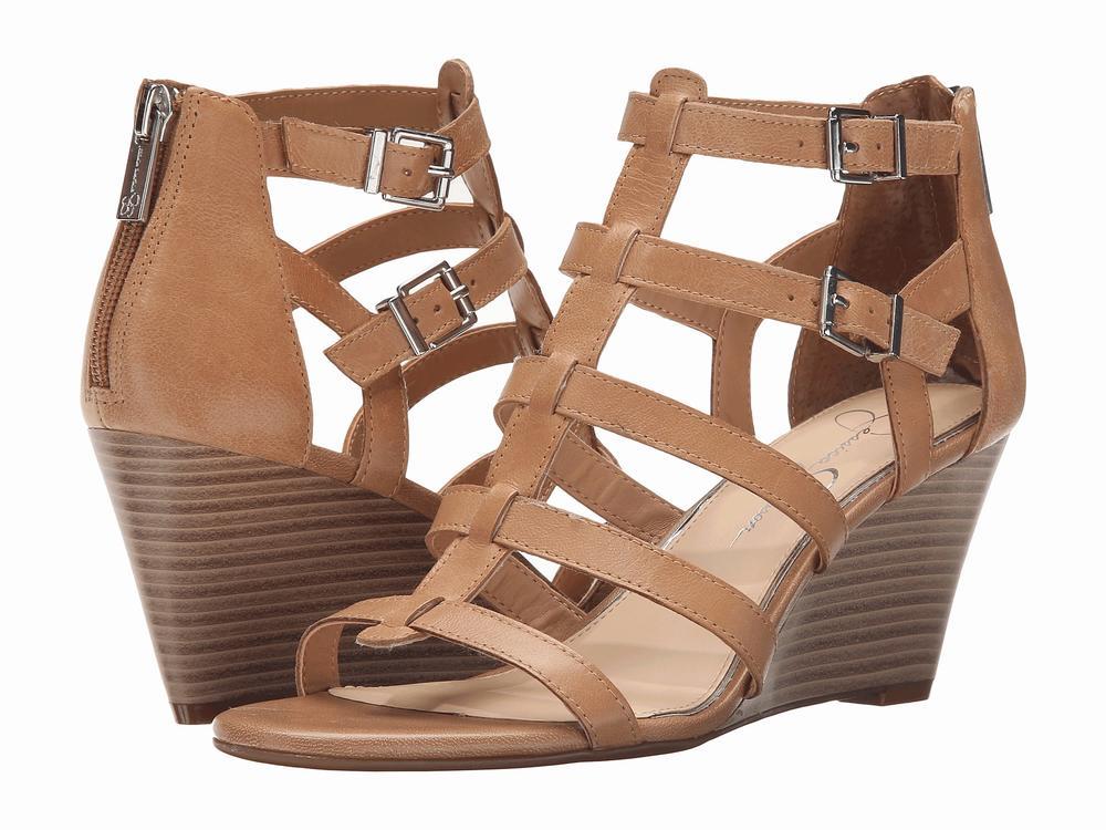 Giày Sandals Đế Xuồng Nữ Jessica Simpson Shalon Cao Cấp