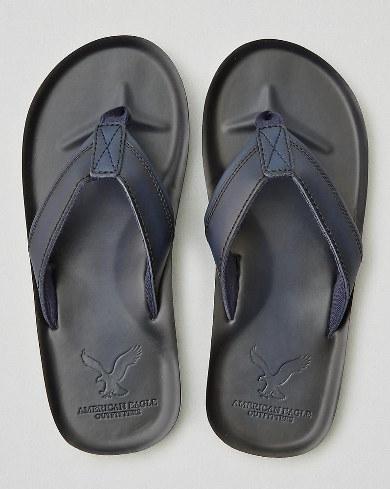 American Eagle Flip Flop Xanh Đen