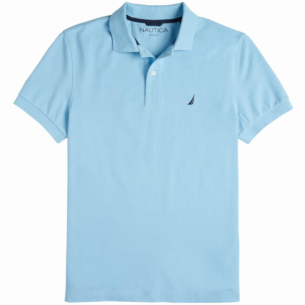 Áo Polo Nam Nautica Slim Fit Pique Deck