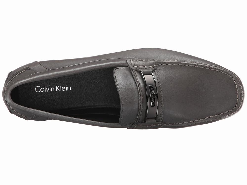 Giày Lười Da đen Nam Calvin Klein 1