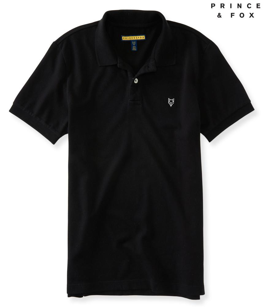 Áo Thun Polo Aero Prince & Fox màu đen