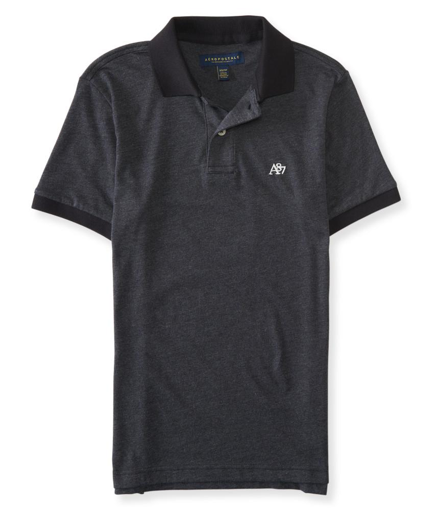 Áo Thun Polo Aero Heritage màu đen