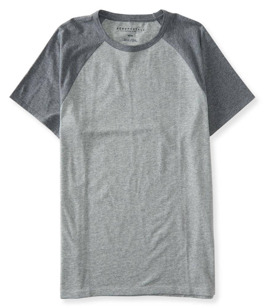 áo thun cổ tròn aero màu xám