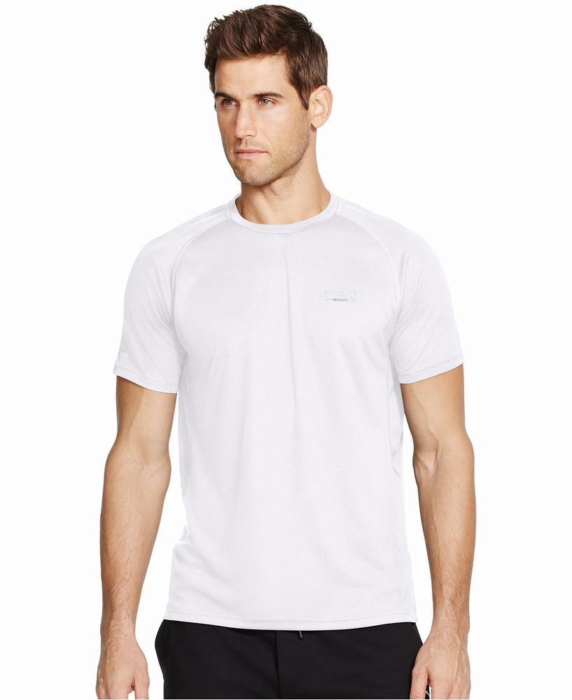 áo thun thể thao ralph lauren nam trắng