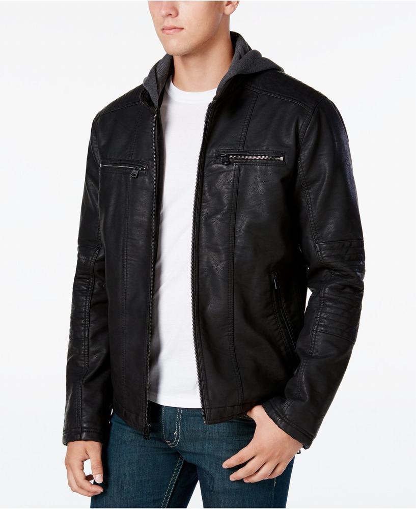 áo khoác da moto Levi's nam Zip-Up Motorcross