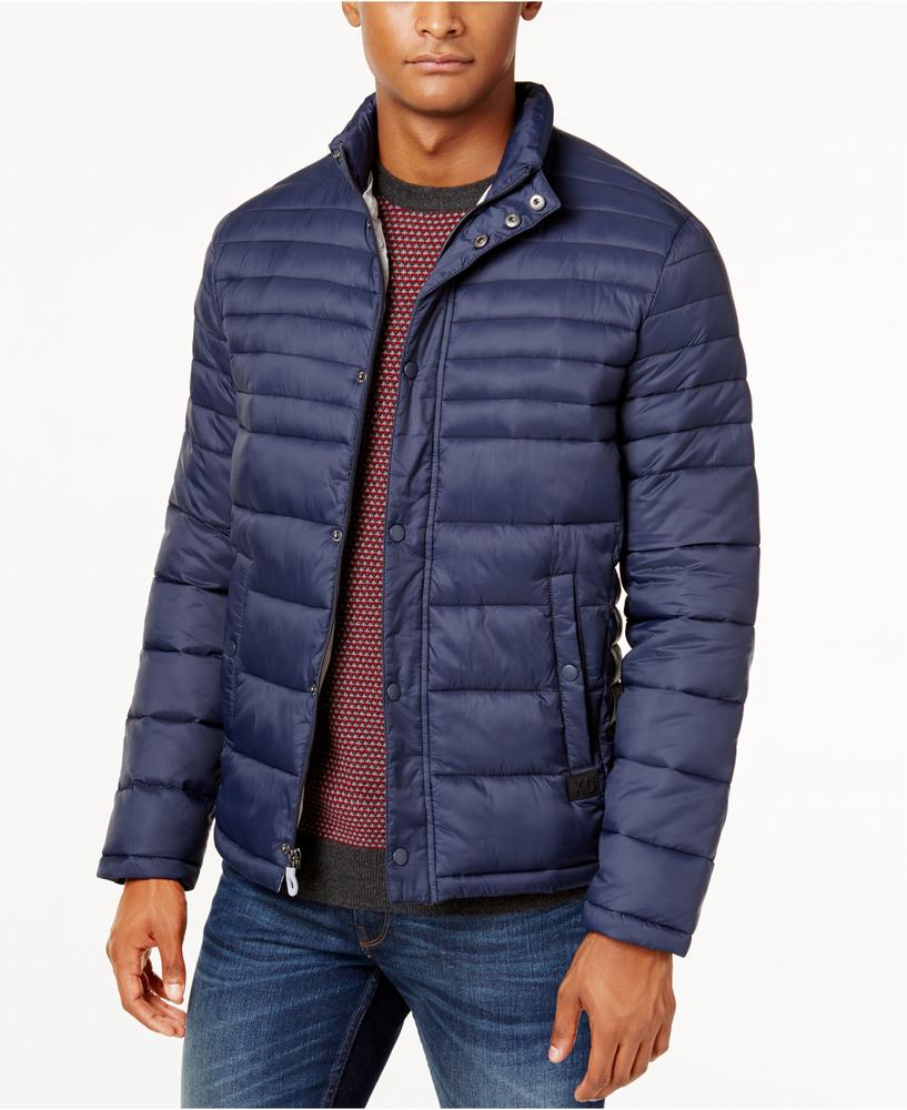 áo khoác phao Kenneth Cole Quilted Packable Puffer