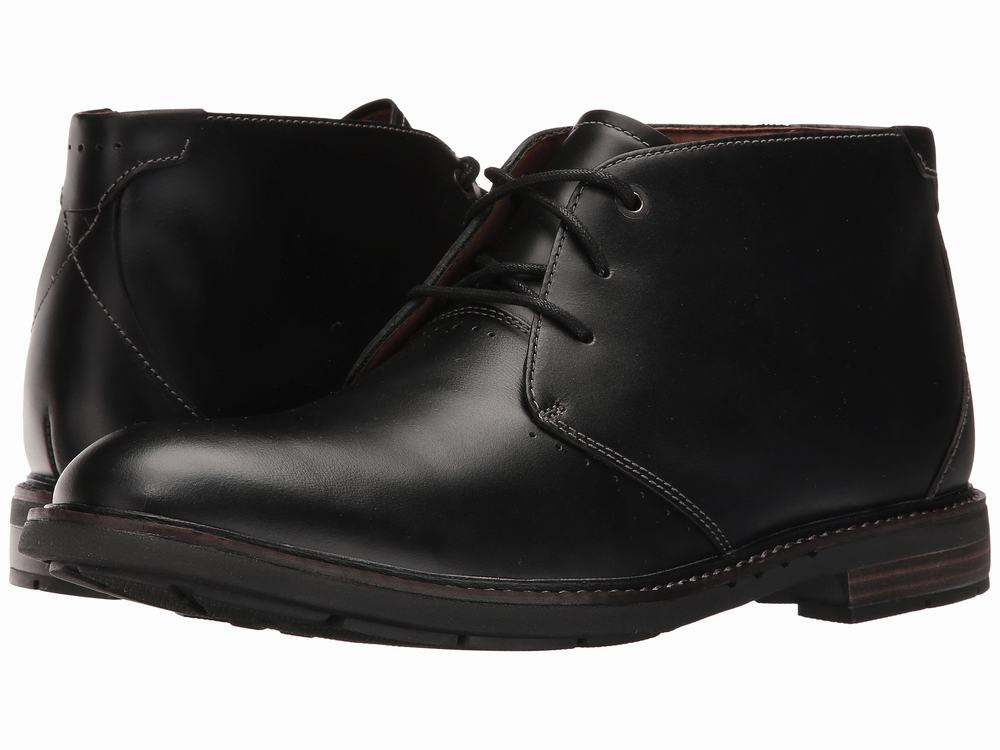 giày da cao cổ Clarks Un.Elott Mid