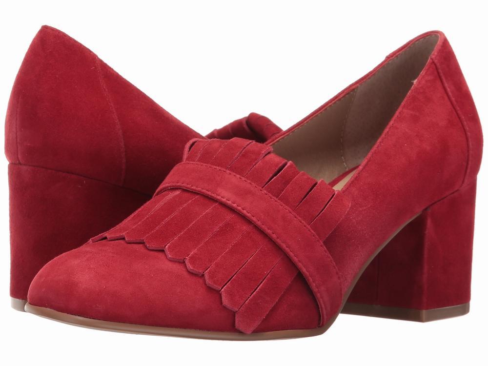 giày cao gót da lộn Steve Madden Kate