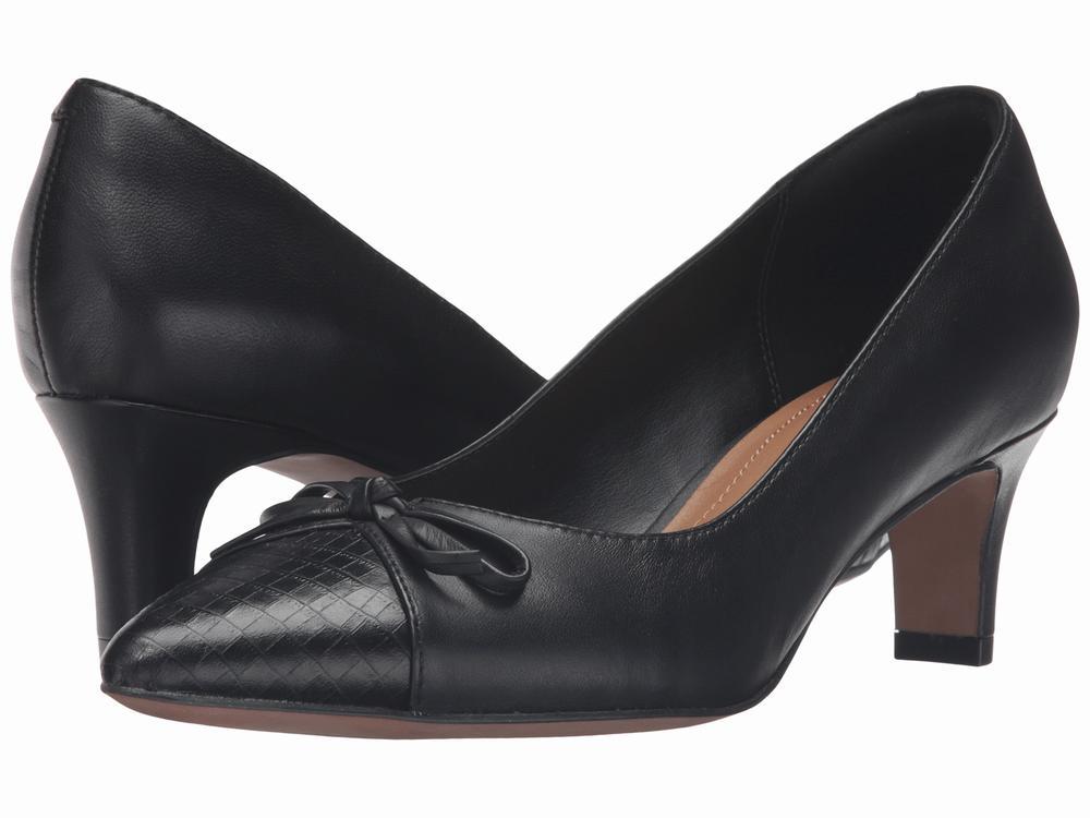 Giày da Cao Gót Clarks Crewso Calica chính hãng