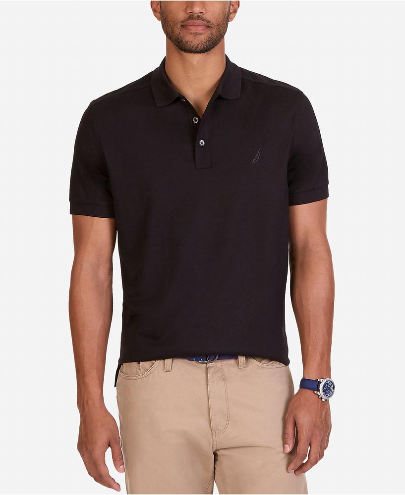 áo thun nam Nautica Polo Shirt màu đen