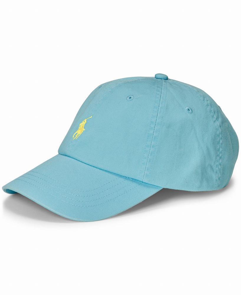 nón Polo Ralph Lauren nam Classic Chino xanh thể thao