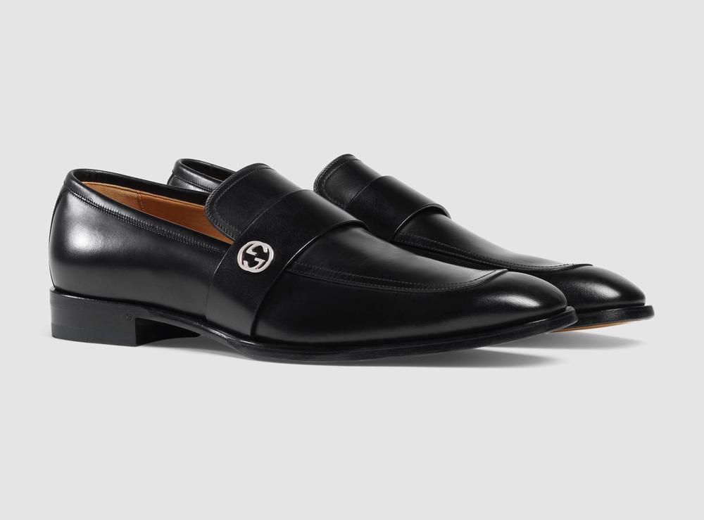 giày da Gucci Leather công sở chính hãng