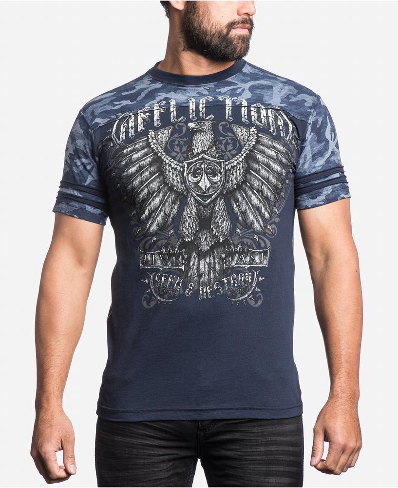 áo thun Affliction nam Graphic-Print chính hãng